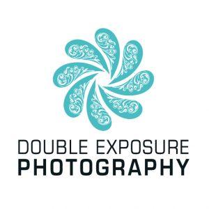 double-exposue-photography-square-logo